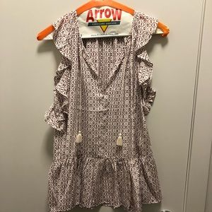 Madewell too size XS. Worn once